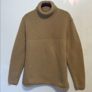 Women's Gap 100% Lambswool Turtleneck Sweater Lg